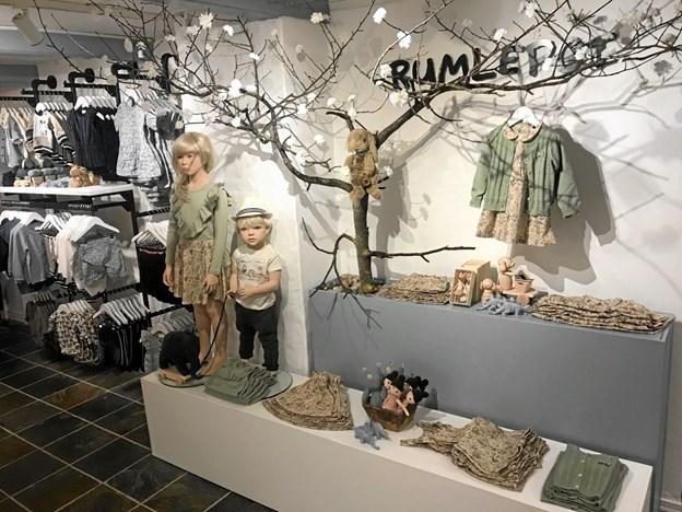 Butikken kommer til at rumme tøj fra str. 50-152 (0-12 år) og priser alle kan være med p