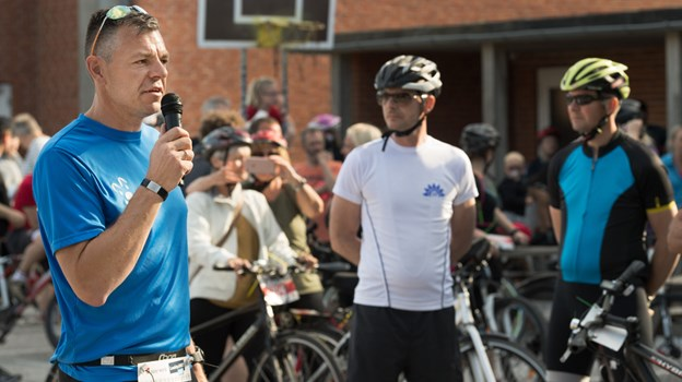 Løbsarrangør Rico Eiersted fra Strandby bliver også involveret i dette års udgave af LandsbyLØBET. Matthew David Burnett