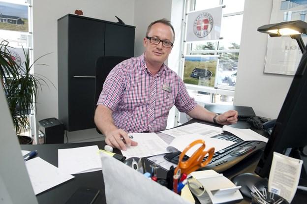 Jan Brusgaard, indehaver af FeriePartner Løkken ser frem til at der bliver mere plads.   Arkivfoto: Henrik Louis