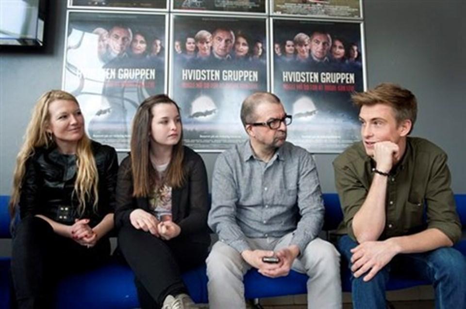 Historien om Hvidstengruppen har gjort indtryk på folkene bag filmen. Foto: Bente Poder
