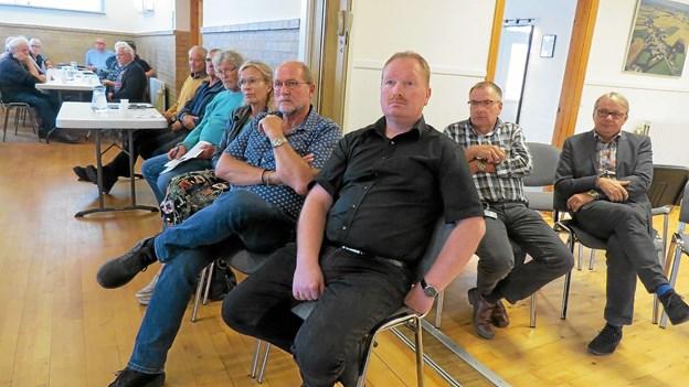 En stor gruppe byrådsmedlemmer deltog i mødet. Foto: Kirsten Olsen