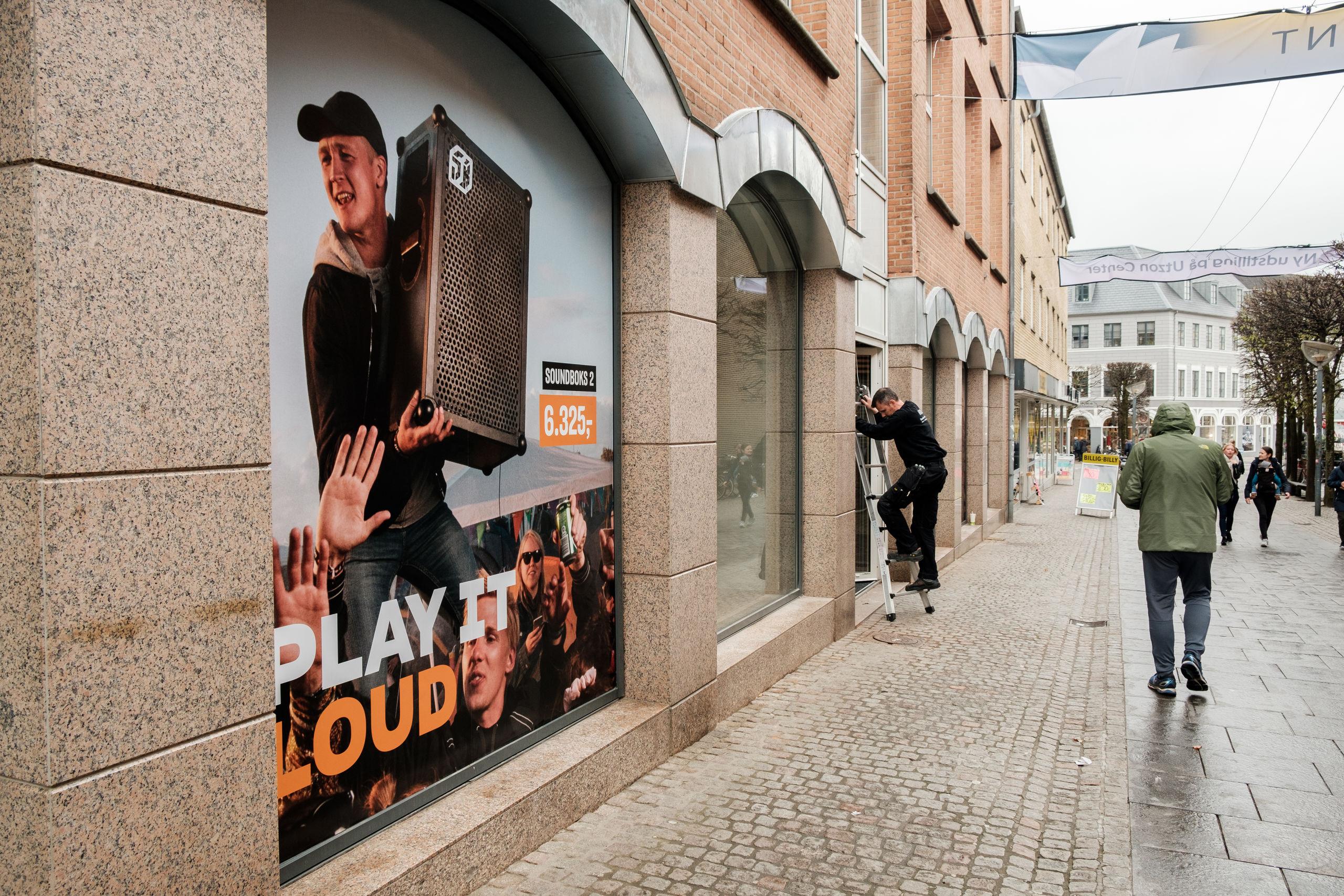 HiFi Klubben i Slotsgade vil udfordre vores måde at lytte på. Arkivfoto: Lasse Sand