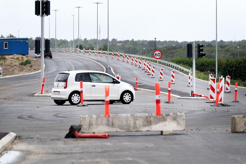 2019 skulle gerne blive året, hvor de sidste vejkegler forsvinder, og Egnsplanvej efter mange års arbejde står færdig. Arkivfoto: Torben Hansen