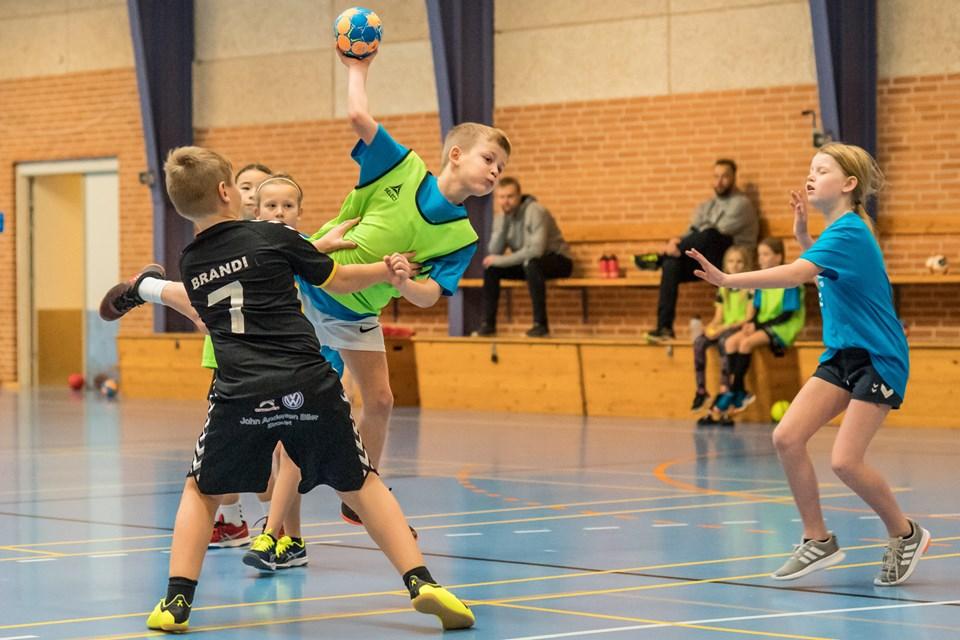 Børnene kastede sig ud i kampene med liv og sjæl. Foto: Martin Damgård Martin Damgård
