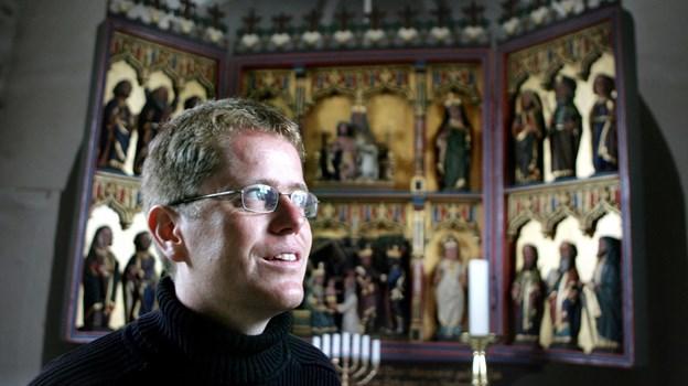 Sognepræst Morten Thaysen flyttede for 11 år siden fra Tornby til Varde.  Arkivfoto: Henrik Louis