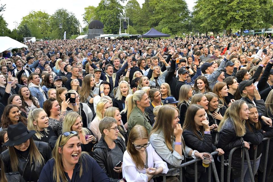 Skråens leder håber, at der i snit kommer 4000 gæster til de otte koncerter. Arkivfoto: Claus Søndberg