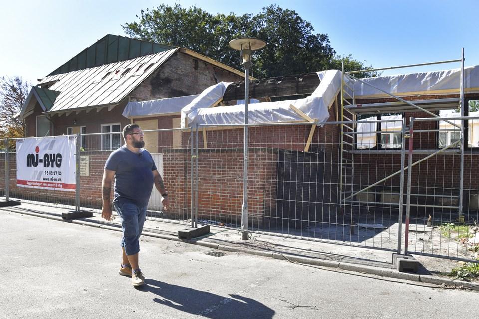 I sommer håbede Thorbjørn Blicher stadig på at kunne åbne Restaurant Hedelund, men byrådet besluttede altså at rive ned.