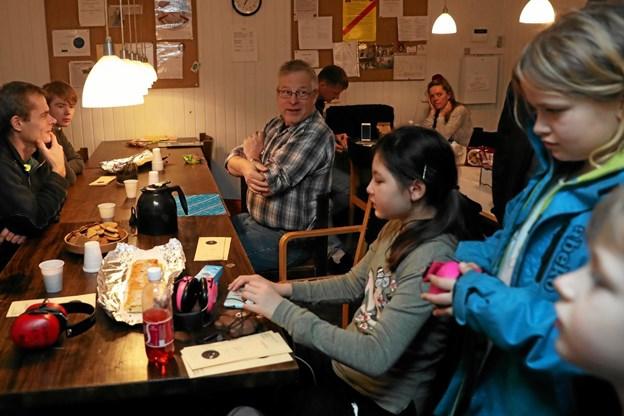 Arrangementet bød også på hygge og kage til de besøgende. Foto: Allan Mortensen Allan Mortensen