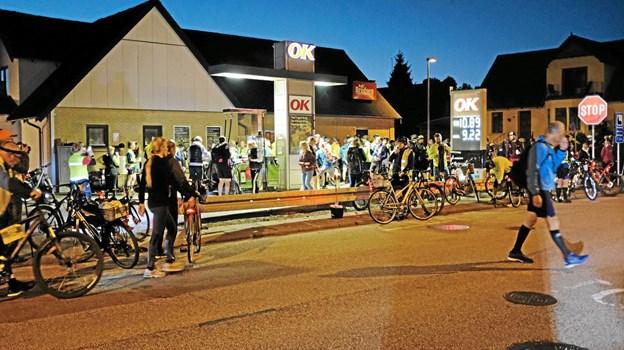 Ved Dagli'Brugsens OK anlæg blev der tanket kakaomælk i stedet for benzin. Foto: Niels Helver Niels Helver