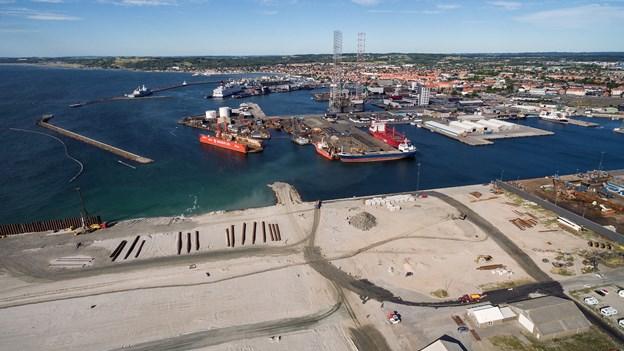Frederikshavn Havn. Foto: Peter Broen