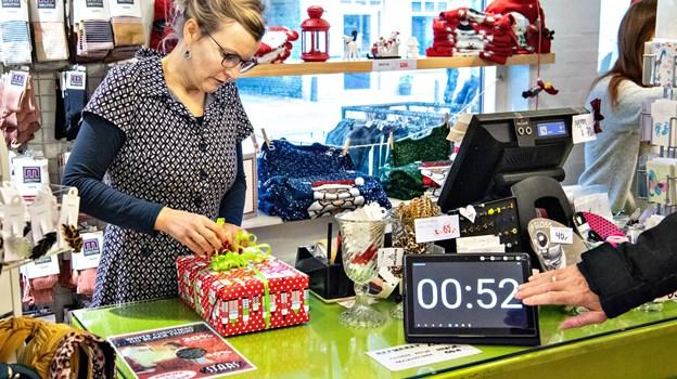 Slutspurten er i fuld gang, og testredaktionen er klar til at stoppe tilden, når Maja Albrechtsen melder ... Foto: Kim Dahl Hansen