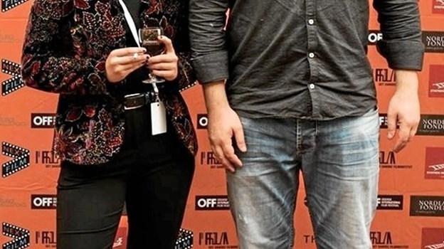 My Hyttel og Mads Palm fra FilmMaskinen til TheNextFilm Festival i Odense.
