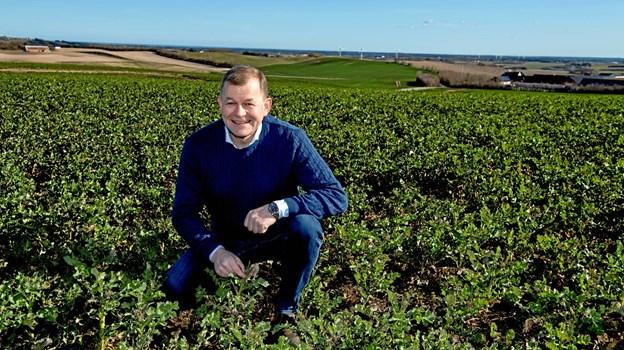 Jens Peter Lunden har qua det store landbrug og de mange erhvervsaktiviteter en travl hverdag. Han beskæftiger ca. 30 medarbejdere.