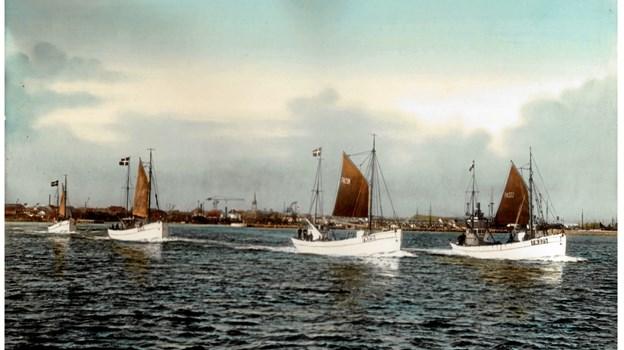 Englandsbådene stævner ud