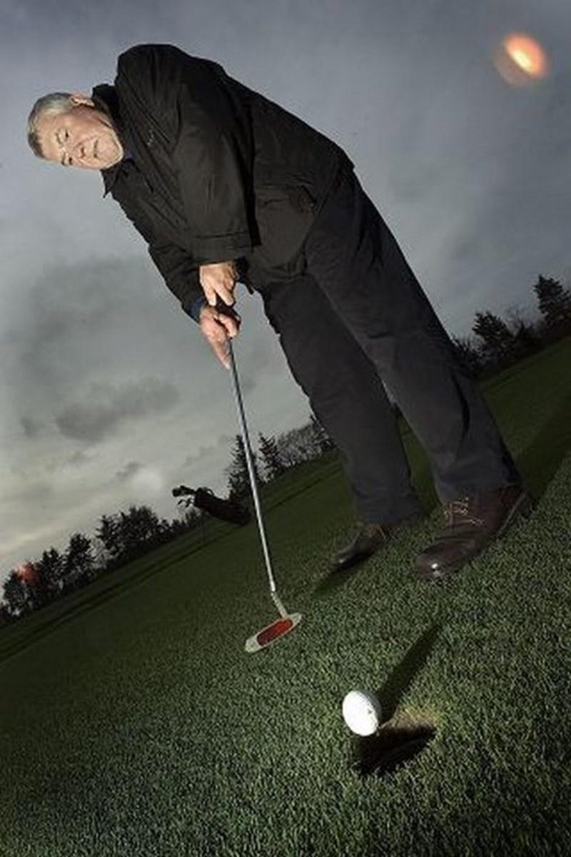 Aabybro Golfklub er i konkurrence med andre golfklubber, så investeringer skal foretages med omtanke, fortæller formand Niels Arne Jensen. Foto: Lars Pauli
