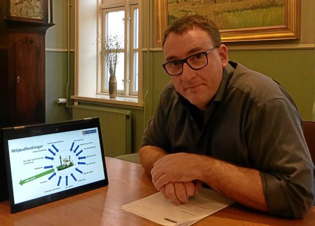 Niels Dal er en af de mange grønne iværksættere i kommunen