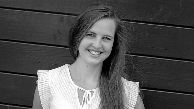 Nytårskoncertens klassiske talent er i 2019 den 23-årige sopran Lise Robenhagen Hjørne, som er født og opvokset i Strandby.  Foto: PR - foto
