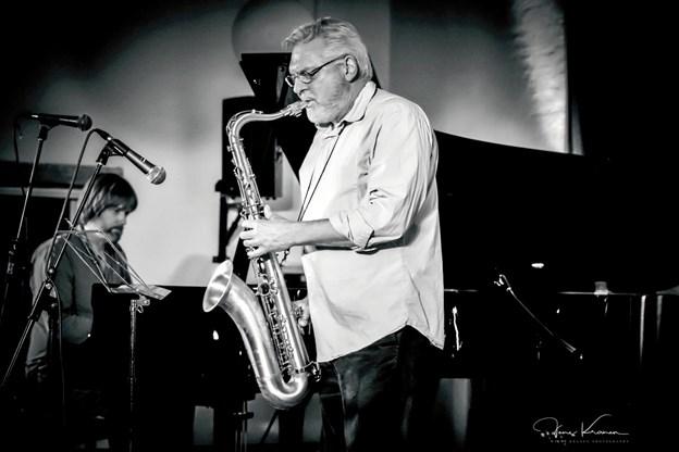 Uffe Marcussen repræsenterer det nordjyske jazzmiljø i Jazz Hobros forårsprogram. PR-foto