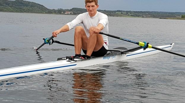 William Wisholm - har kvalificeret sig til U23-VM i Florida først i august. Privatfoto