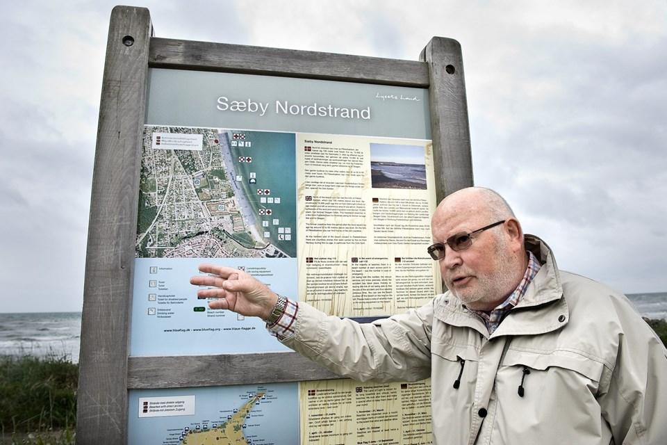 For otte år siden var det kampen for de offentlige toiletter på Sæby Nordstrand, der fyldte