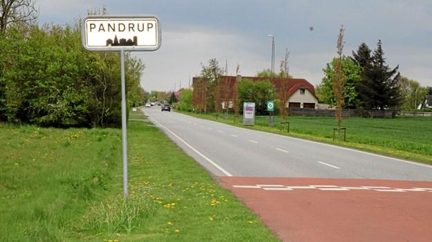 Udvikling af indfaldsvejene skal give appetit på at opleve områdets tilbud og handelsliv. Foto: Flemming Dahl Jensen