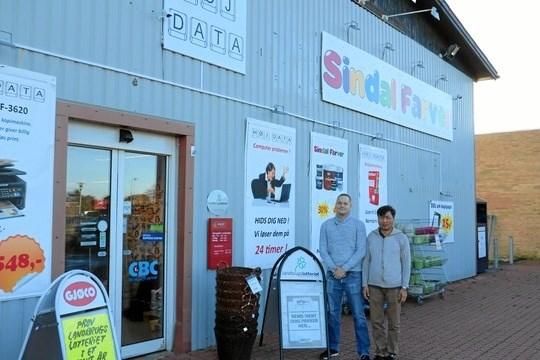 Sindal Farver fik for et par år siden en DAO pakkeshop.  Arkivfoto