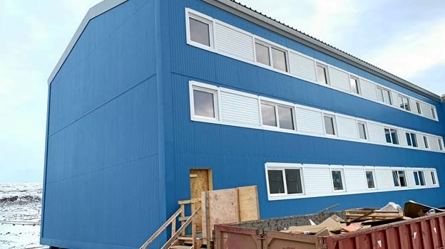 Thule er et andet sted, hvor en elev fra EUC Nord har fået en læreplads.