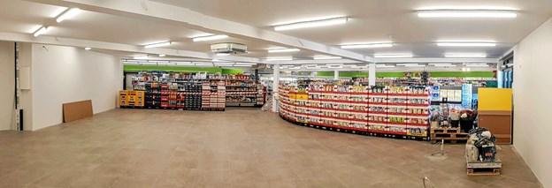 Butikken er udvidet med 170 kvm til ialt 400 kvm. Foto: Karl Erik Hansen Karl Erik Hansen