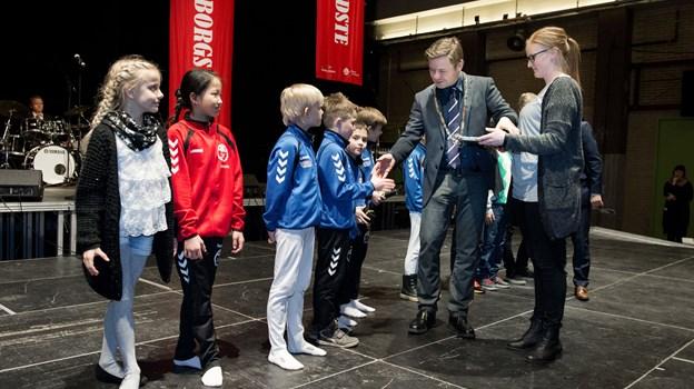 Der venter hæder og officiel tak fra borgmester Thomas Kastrup-Larsen til de flere end 300 sportsfolk, der har taget mesterskaber med hjem i 2018. Arkivfoto: Henrik Louis