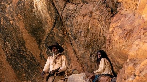 Scene fra filmen Sweet Country, som kan ses i starten af februar.