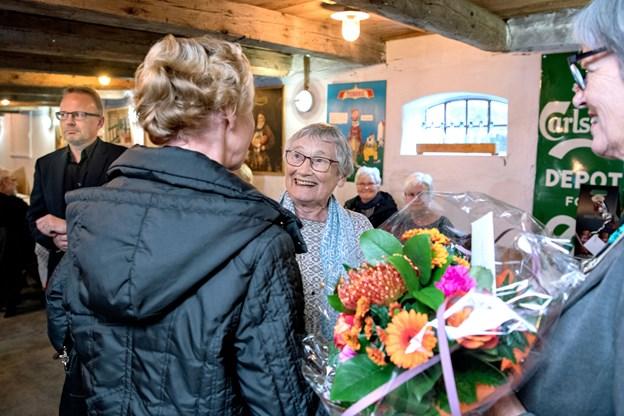 Ellen Helvind fik en flot afsked. Foto: Henrik Louis
