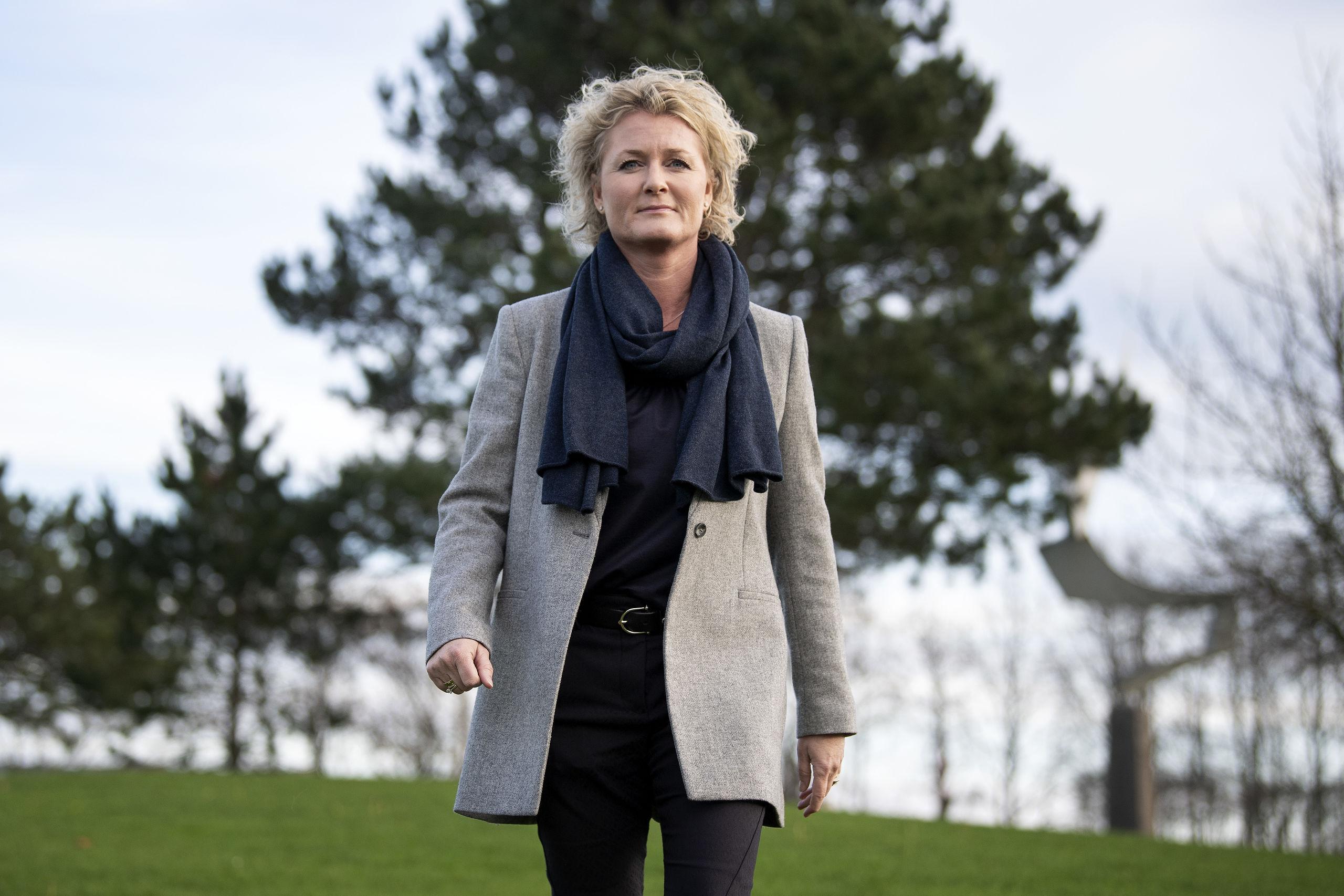 Aalborg har været fundamentet for Rikke Mølgaards karriere, da hun både har gået i folkeskole, på gymnasiet og på universitetet her.  Foto: Henrik Bo
