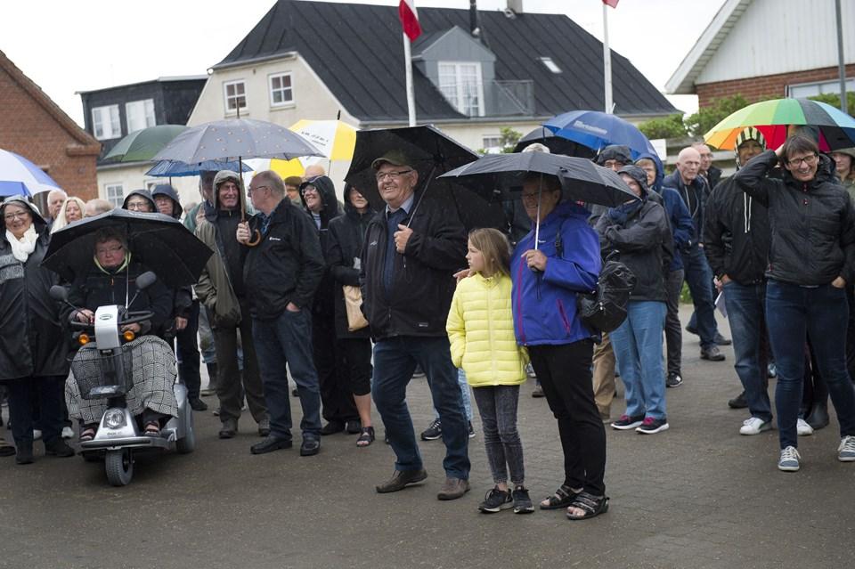 Agger Købmandshandel er åbnet. Foto: Bo Lehm