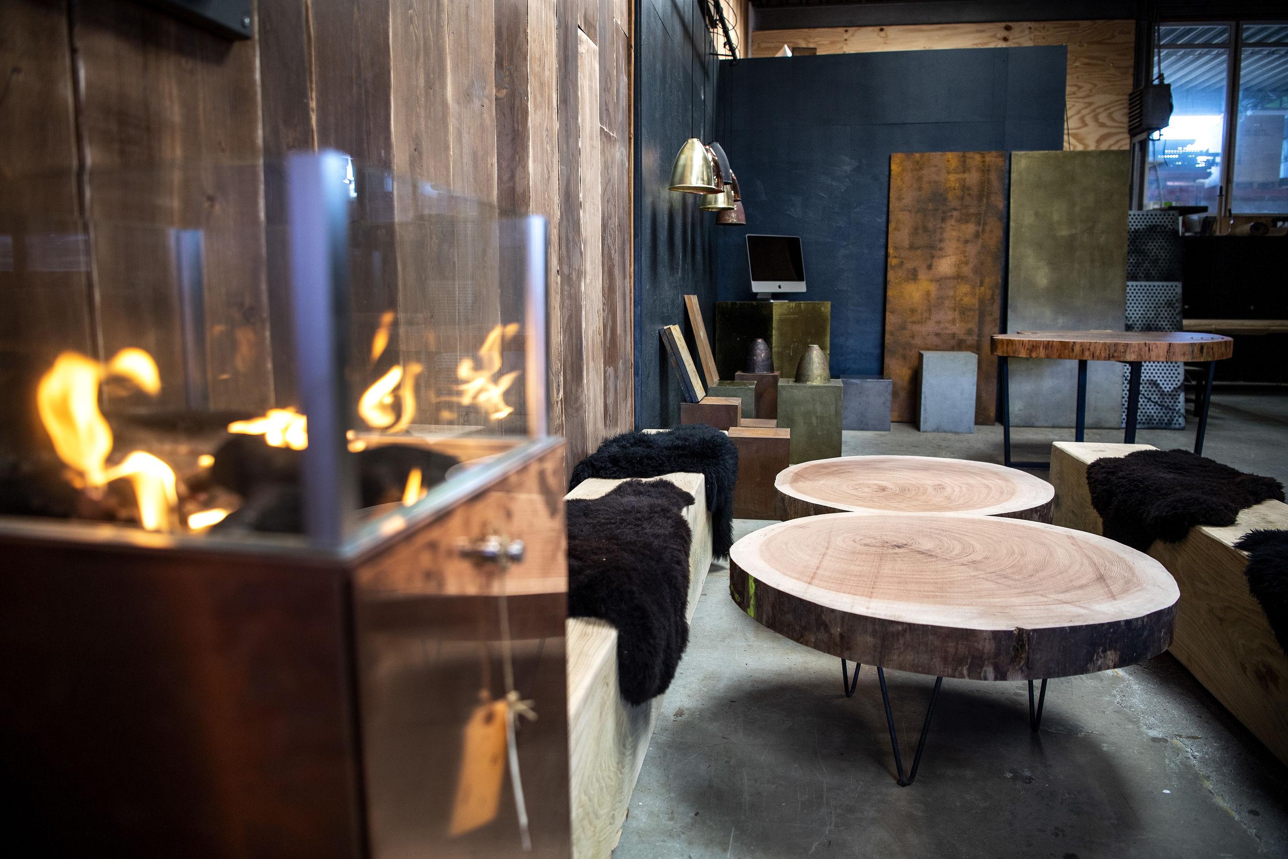 I det nye showroom kan man se møblerne i en helhed. Foto: Laura Guldhammer