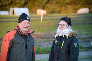 Et godt match: Lasse og grisene fik Monika tilbage på arbejdsmarkedet