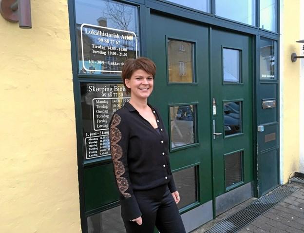 Sandra O'Brien Kirk er en af de lokale forfattere, som man kan møde i Bogby-Butikken i Skørping 9. maj. Arkivfoto