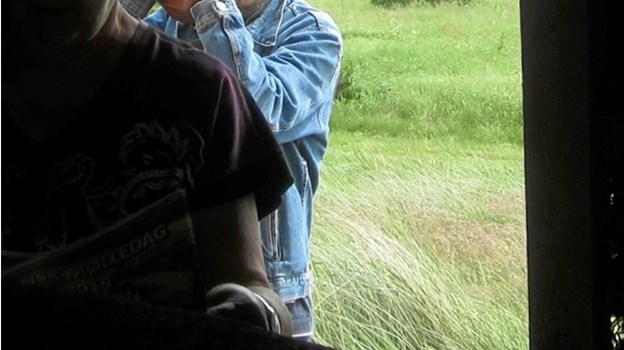 En interesseret fotograf var på pletten for at forevige det lille egnsklenodie fra alle vinkler. Ejgil