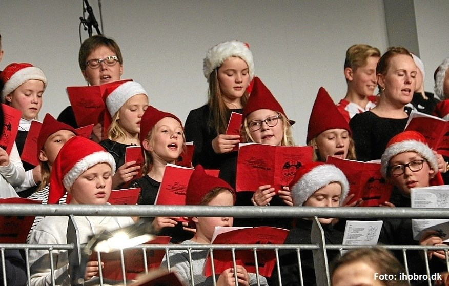 Julekoncert med 200 4. klasses elever