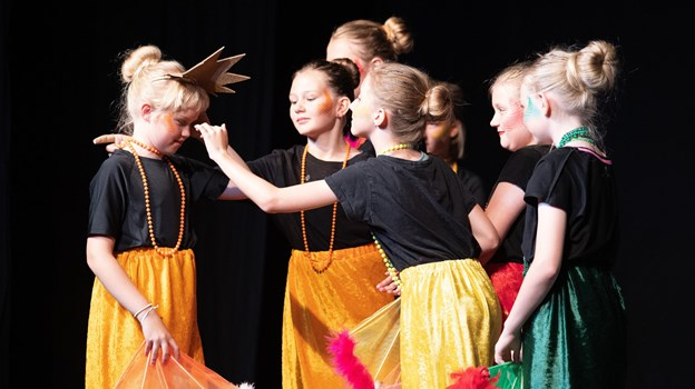 Sommerskolen er BASs måde at få åbnet lidt op for potentielle nye medlemmer af teaterholdet.Foto: Bente Poder