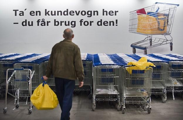 Vi har ifølge IKEAs årsrapport været særligt interesserede i køkkener, senge og mad det seneste år. Arkivfoto: Martin Damgård