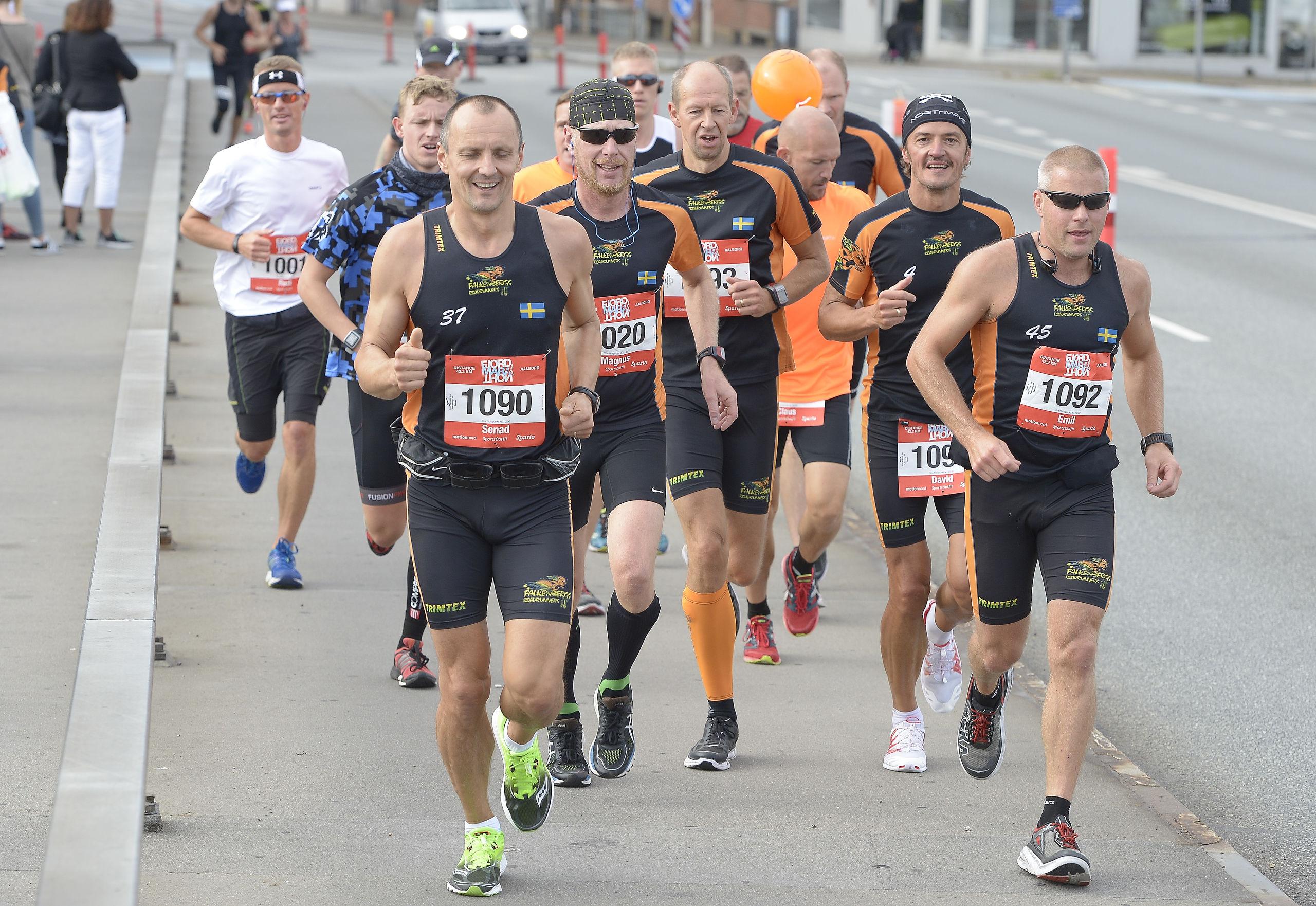 Det traditionsrige Fjordmarathon vender tilbage. Arkivfoto