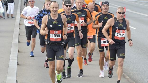 Aalborg Fjordmarathon vender tilbage i august. Arkivfoto: Michael Bygballe
