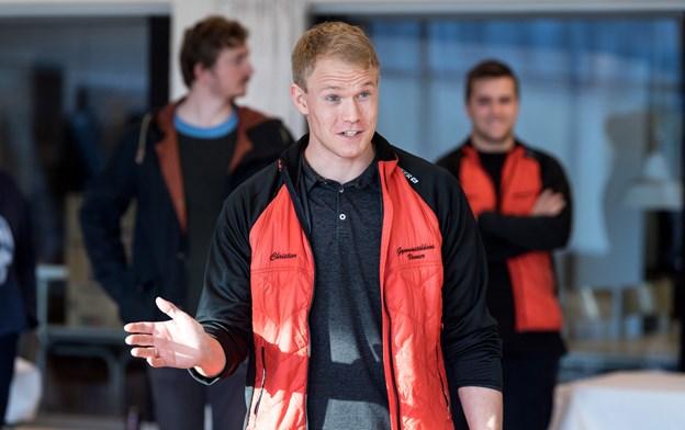 Formanden for Gymnastikkens Venner, Christian Bjerring, holdt velkomsttale. Torben Hansen