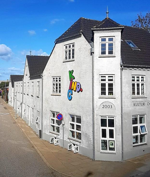 Kig Ind i Nørager - står i den kommende tid over for en større ombygning, som bl. a. skal resultere i en fast scene, nyt depotrum og nye, større køkkenfaciliteter. Arkivfoto
