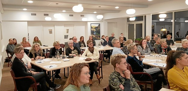 47 ledere og medarbejdere fra Rebilds detail- og servicevirksomheder deltog i nytårskuren arrangeret af Business Rebild. Privatfoto