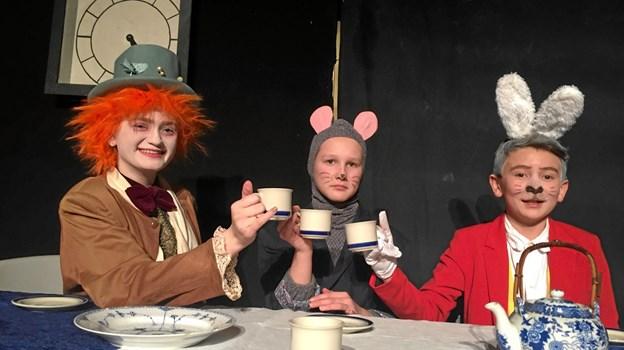 Sæby Scenens juniorhold opførte Alice i Eventyrland på Skovlyst sidste år. Nu går Børneholdet så i gang for at skabe grundlaget for skuespilpræstationer også for årene, der kommer.