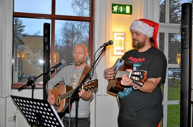 Julestemningen blev slået an med dejlig julemusik. Foto: Jesper Bøss Jesper Bøss