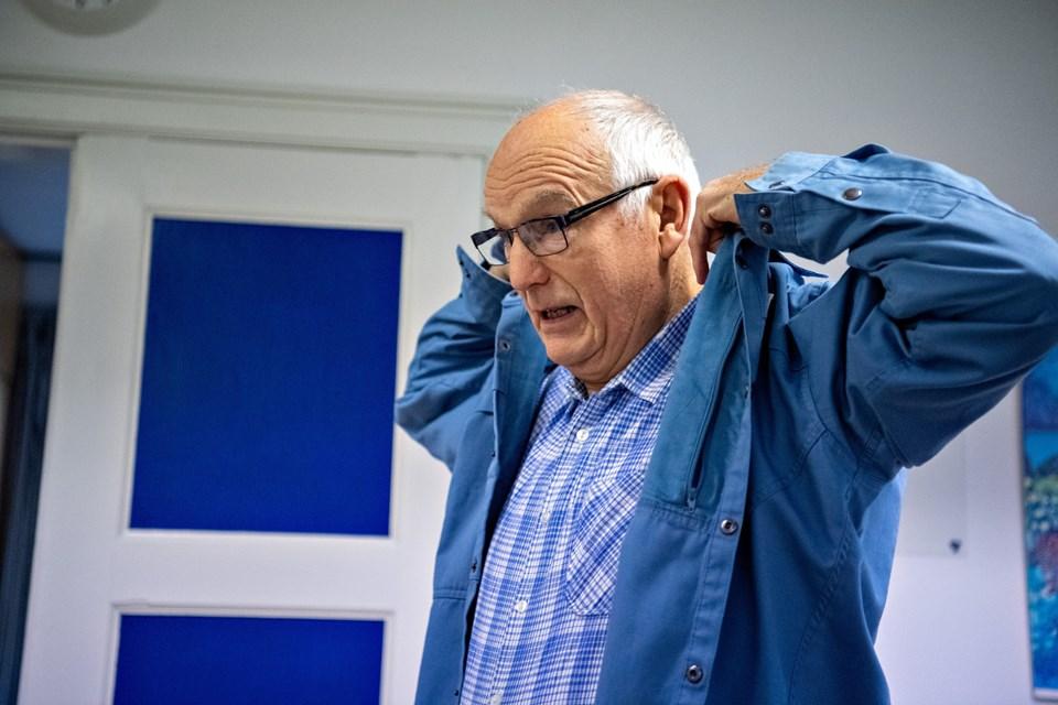 Knud Bilde kom med i FDF i Frederikshavn først i fem år, og fra 1968 var han leder i FDF Ålbæk, og han nyder stadig at fortælle historier og lære børn færdigheder. Foto: Kim Dahl Hansen. Foto: Kim Dahl Hansen