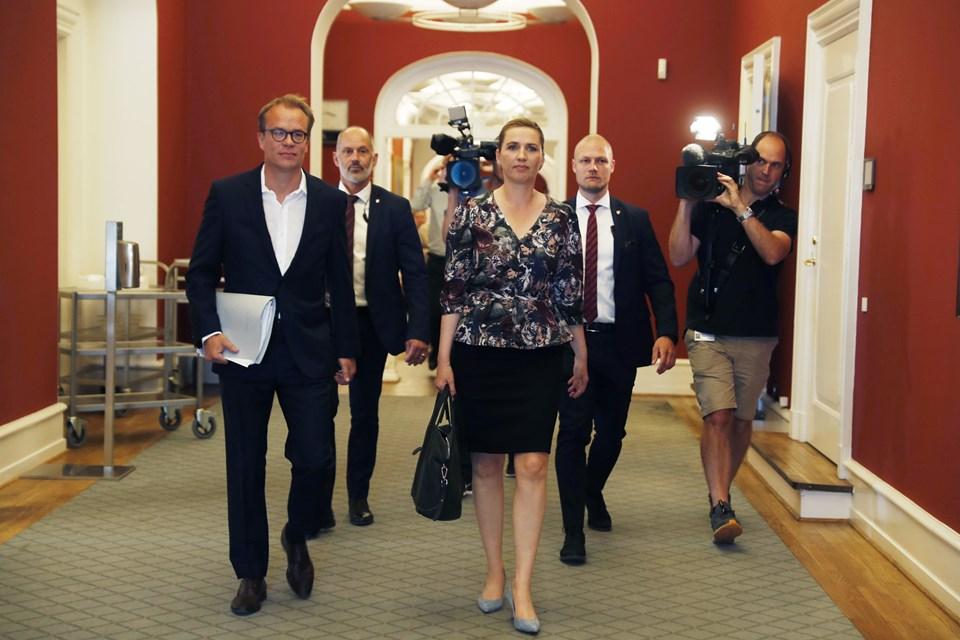 Michael Sand og Søren Wormslev og Helle Madsen og Caspar Birk