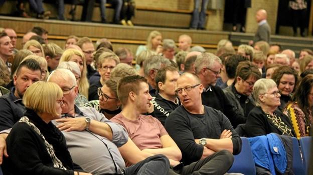 Publikum var glade for arrangementet. Foto: Flemming Dahl Jensen Flemming Dahl Jensen